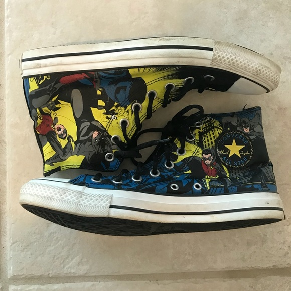 43c1d47a86e0 Converse Other - Vintage Converse All Stars Batman and Robin